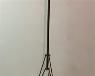 """CLEARANCE  !  $15.00 NOW, WAS $50.00................Antique Adjustable Tripod was used in photography studio in Lanesboro MN69"""" tall (P627)"""