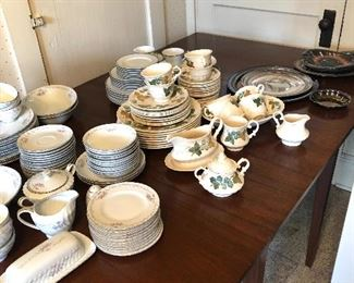 Three sets of dishes