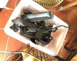 iron pulls and hooks