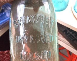 Swayzee's mason jar #13