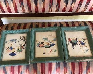 set of Josette Boland prints