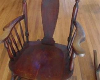 T-Back Rocking Chair