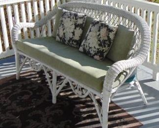 Wicker Love Seat