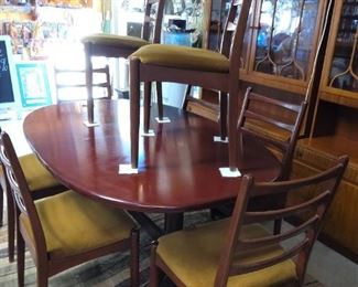 Furniture MCM table and chairs