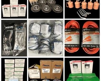 3M P95 Respirators, Face Masks, Ortec Multichannel Analyzer, Industrial Paint Markers, Various  Sanding Wheels & Grinders, Siemens PFA100 Hemostasis Measuring Equipment, Stainless Steel Medical Tools, New Eaton Heavy Duty Safety Switches, GoldenRod Industrial Pump Oiler,