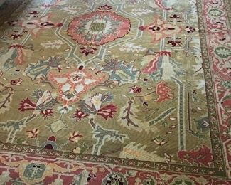 Asia Minor Basdogan Rug - All Wool, Vegetable Dye, Hand Knotted - 9' x 12' | $575