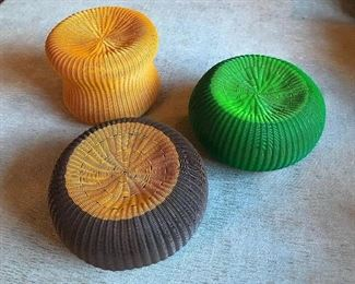 Lebello Poufs - Green only still available  | Retail: $280 each | Price: $65 each
