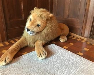 Melissa & Doug Stuffed Lion | $40