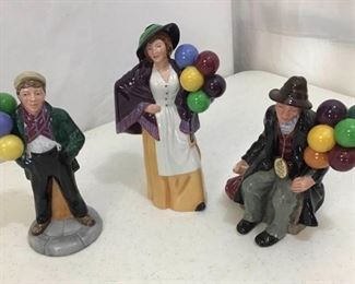100Royal Doulton Balloon Figurines