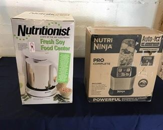 104Nutra Ninja  Soy Food Processors