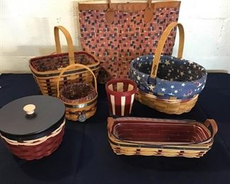108Longaberger Fourth of July Assortment