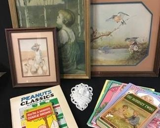 159Vtg Art  Books for Children