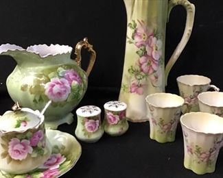 177Nippon, Lefton Rose Porcelain