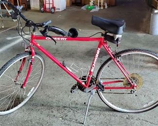 203Vtg Red Schwinn CrossFit Bike