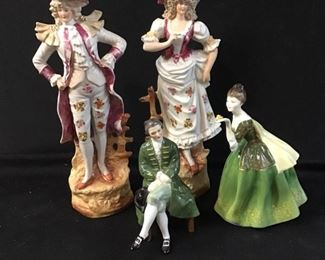 267Royal Doulton Renaissance Figurines