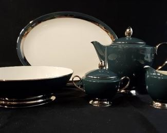 288Gorham Black Contessa Serving Pieces