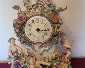 Heco Cherubim Clock