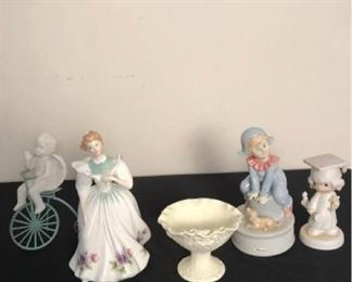 Variety of Collectible Figurines
