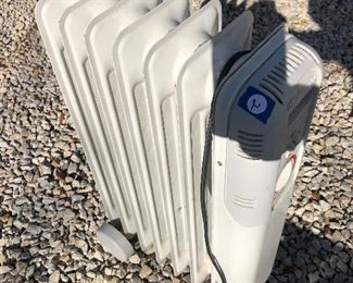 #2) $20 - Lakewood portable, radiator-style electric heater, 2 feet tall.