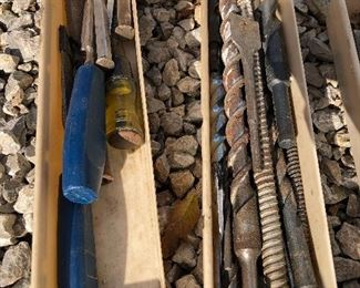 #18) $20 - Lot of various wood files, drill bits, chissels and other assorted tools