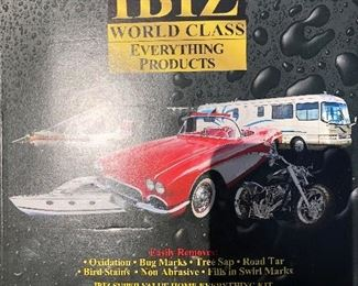 #21) $25 - Ibiz World Class Cleaning Kit, including wash, wax and others
