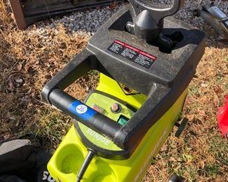 #26) $75 - Sunjoe electric wood chipper plus shredder