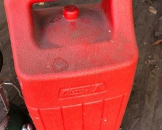 #33) $15 - Coleman fuel lantern with case