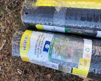 #37) $50 - Tenax, two 100-foot rolls of deer net