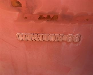 #43) $500 - Citation 66 vintage pop-up camper trailer