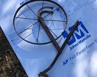 #48) $40 - Antique Farm Plow