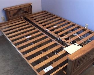 #49) $150 - Brand New Solid Wood Futon.  Mattress Not included.