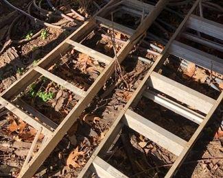 #68) $20 - 2 eight foot foot step ladders.