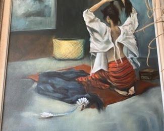 Linda Martin painting