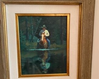 Jack Sorensen oil on canvas