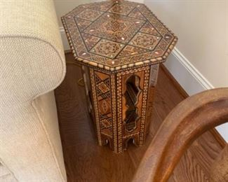 Moroccan style table