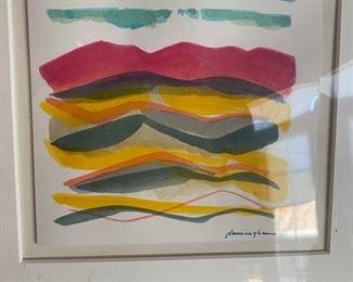 Dan Namingha watercolor