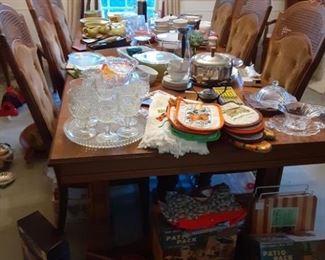 dining room display