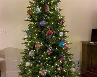Lighted Christmas Tree, the color of your choice...clear, multi or a combination!