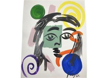 1. Seven Peter Keil Paintings
