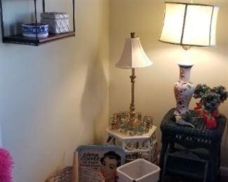 Lamps, decor & more