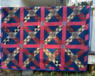 Several Vintage Quilts in This Sale