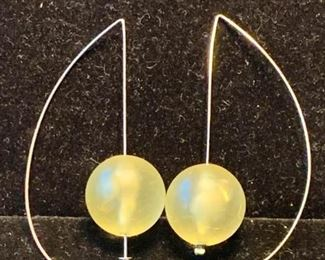 023 Super Cool Lucite Ball Earrings