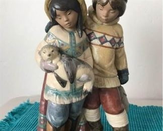 Lladro Collectible Called Arctic Allies