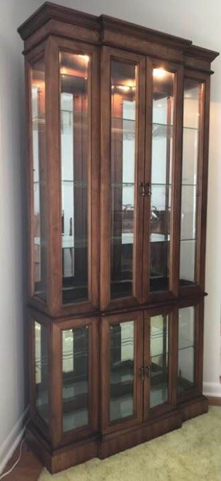 5 Shelf Glass Curio