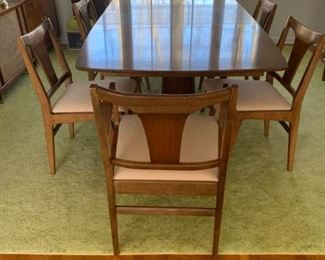 MCM DIning Set 6 Chairs