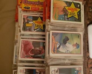 1988 and 1989 Topps Rack Packs- Total of 48