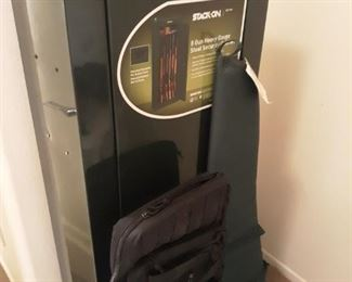 Gun safe and 2 gun cases