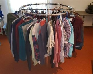 Clothing rack available too, ladies and mens clothing
