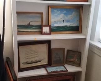 Some of the other Ship paintings