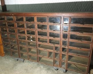 Warren Hardware Display Cabinet  $2,000 or best offer